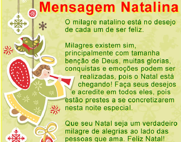 Mensagem de Natal ASSTTRA 2013