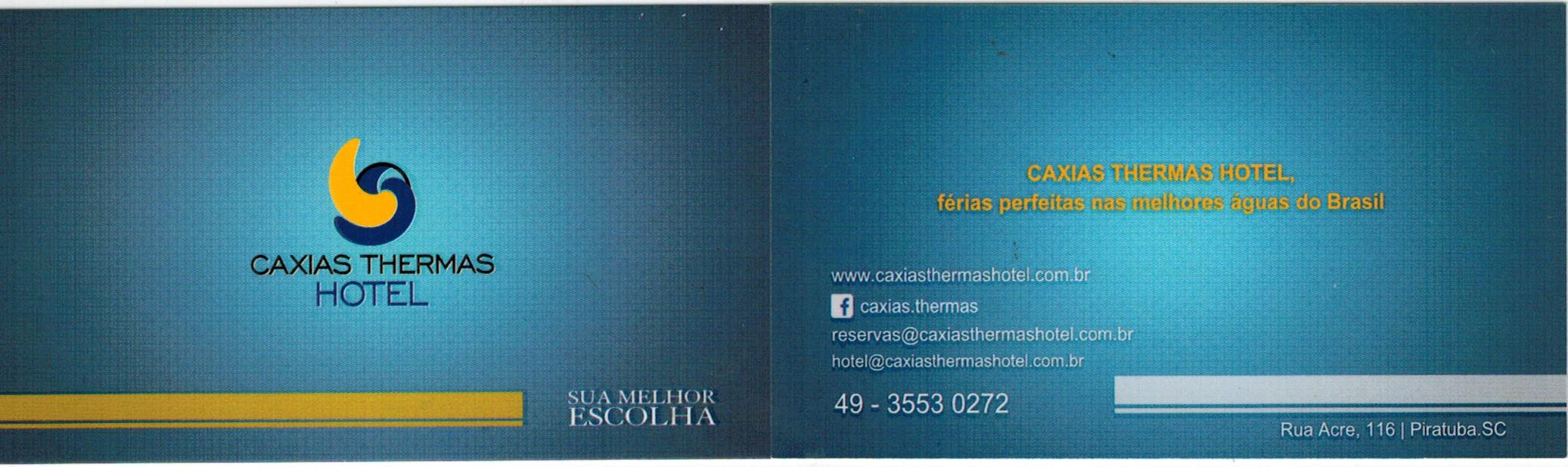 caixias thermas hotel